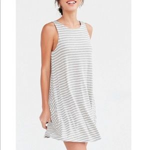 Urban Outfitters BDG Scoop Back Tank Dress Striped